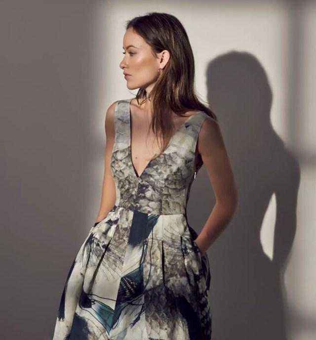 Olivia Wilde nieuwe gezicht H&M Conscious lijn 2015. Te koop vanaf april 2015 in de H&M winkels. Olivia Wilde nieuwe gezicht H&M Conscious lijn.