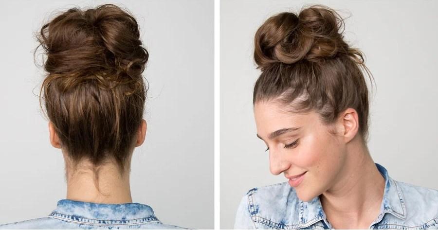 Top 10 Messy Bun Hairstyles