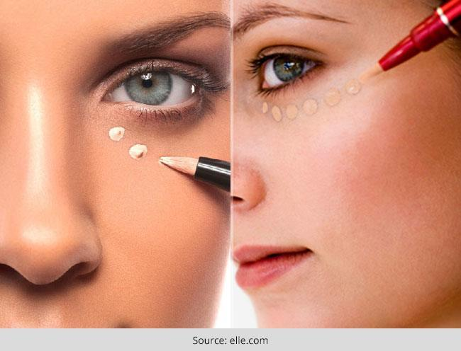 Hide Dark Circles With Make Up In Just 8 Easy Steps