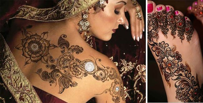 20 best nepalese mehendi designs fashionista for Where can i get a henna tattoo near me