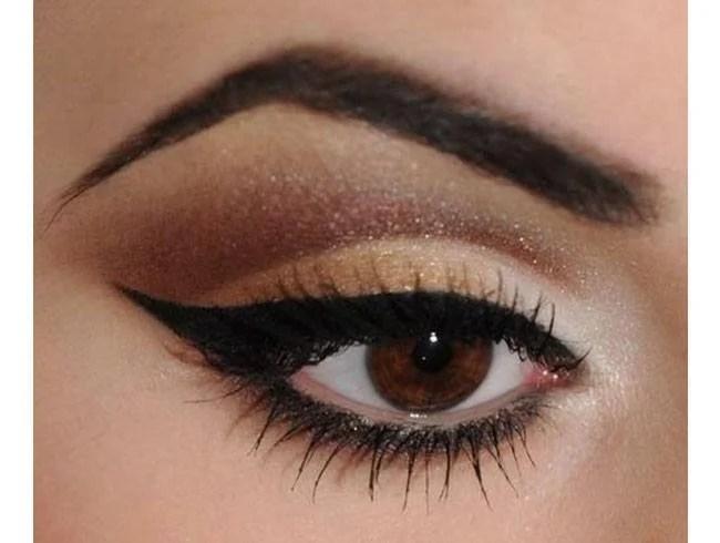Image result for hard angled eyebrow shape