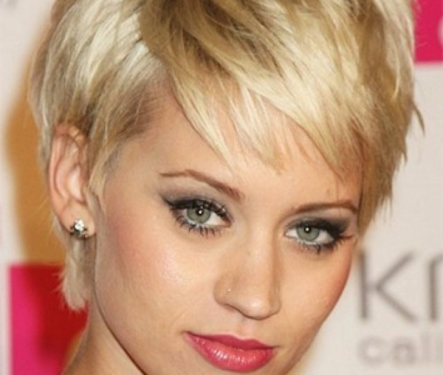 Short Hairstyles Over