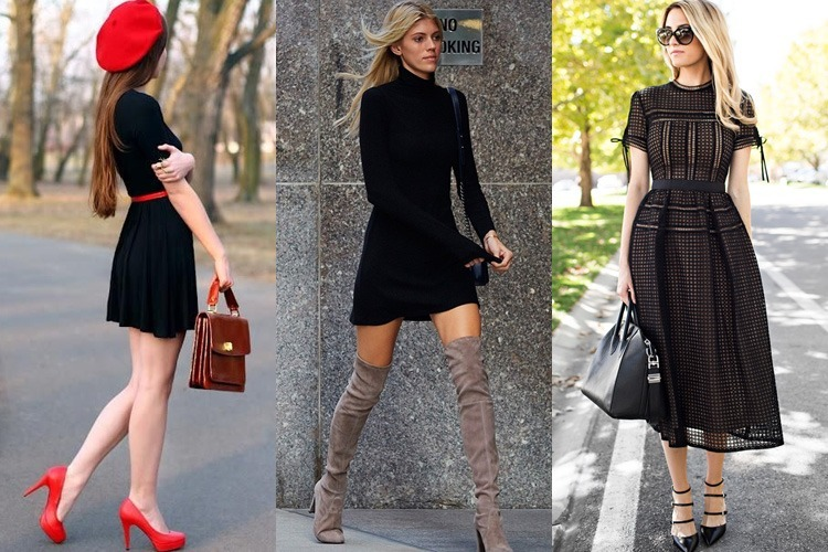 Ways To Accessorise a Black Dress