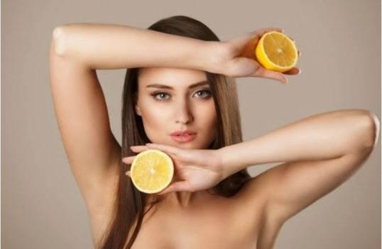Image result for lemon under armpits