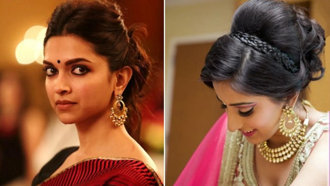 35 easy and fashionable hairstyles for sarees
