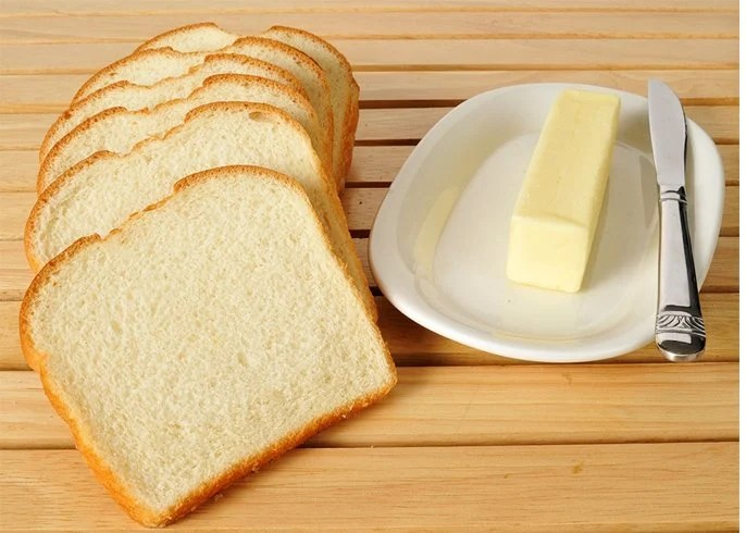 Reduce White Bread for Lose 40 Pounds