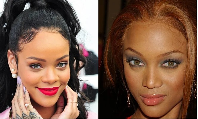 Use a dark foundation for cover forehead