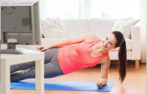 Isometric Side Plank for Abs