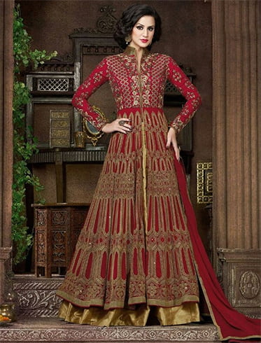 Salwar suits for wedding ceremony