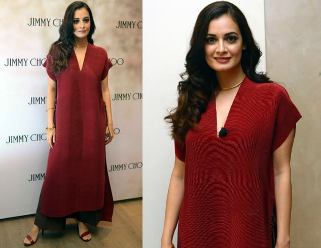 Dia Mirza at coffee-table book launch
