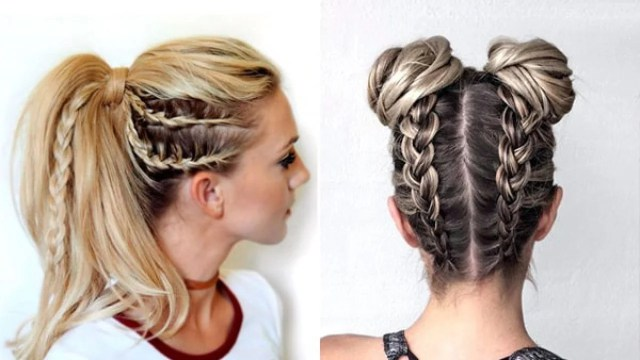 15 sporty hairstyles that will make you stand out!