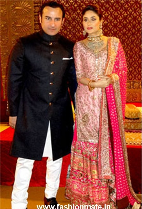 Kareena Kapoor Bridal Dress Reception