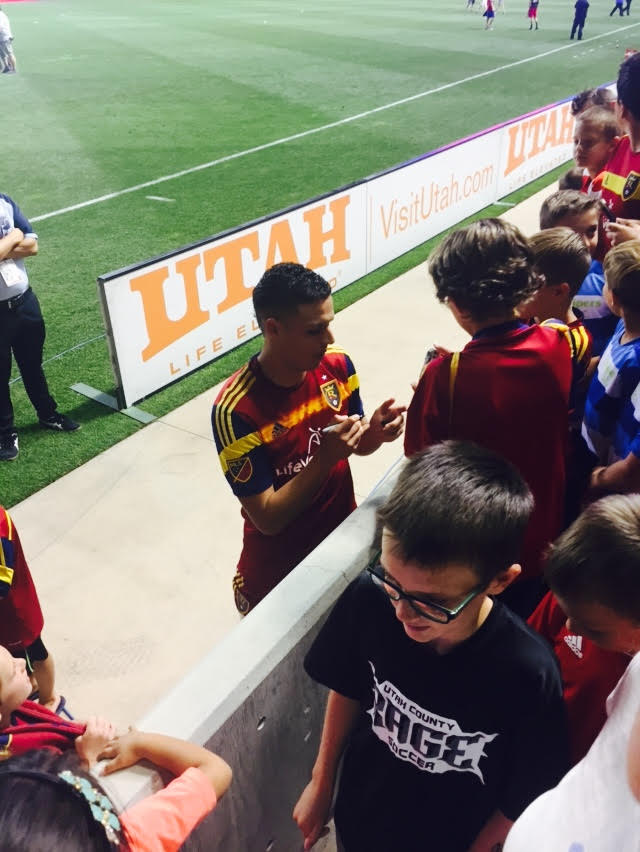 real salt lake - luis silva