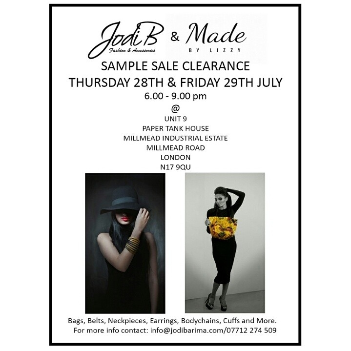 Exclusive Sample Clearance Sale | Fashion Meets Music - Fashion ...