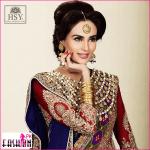Mehreen Syed wearing HSY Bridals hsy khaddar winter linen lawn cotton 2014-2015 HSY Khaddar Winter Linen Lawn Cotton 2014-2015 Mehreen Syed wearing HSY Bridals