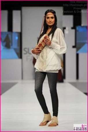 Maria B Sunsilk Fashion Week Dresses 2014-18 2014 Fashion Dresses In Pakistan 2014 Fashion Dresses In Pakistan PFDC Maria B Sunsilk Fashion Week Dresses 2014 18