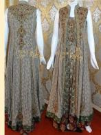Long Slim Grilz Dress new pakistani embroidery dresses designs for women New Pakistani Embroidery Dresses Designs For Women latest pakistani party wear bridal style embroidery