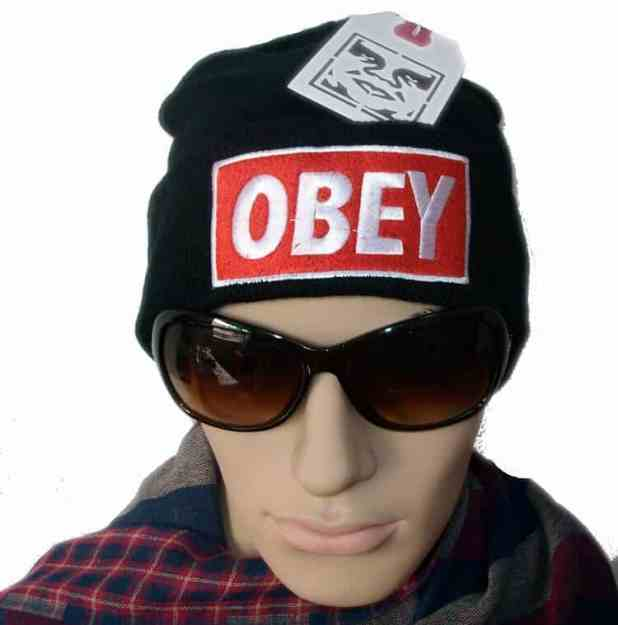 Obey Black Hat For Using Summer Season obey black hat for using summer season Obey Black Hat For Using Summer Season Obey Standard Issue Beanie Cuff Winter Knit Cap Hat Black