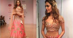 esha gupta shimmers in pink as she walks the ramp Esha Gupta shimmers in pink as she walks the Ramp Esha Gupta shimmers in pink as she walks the ramp