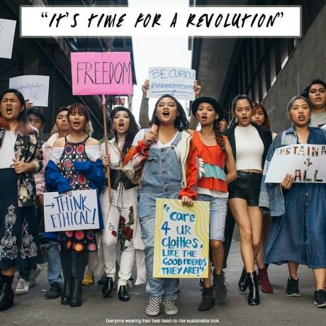 ファッションレボリューション 学生アンバサダーになろう!