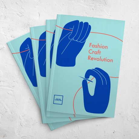 Buy our fanzine - #004: FASHION CRAFT REVOLUTION