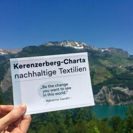 Die Schweizer Mode-Industrie bewegt sich!