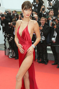 Bombshell Bella Hadid attends 'The Unknown Girl' Premiere - Red Carpet Arrivals - The 69th Annual Cannes Film Festival