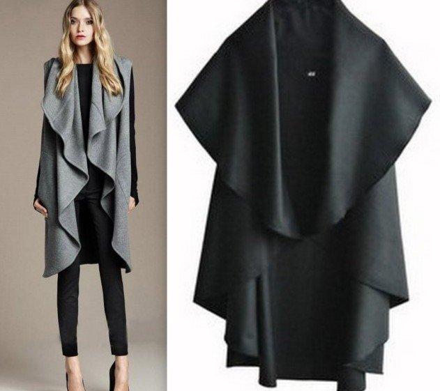 cappotto a mantella