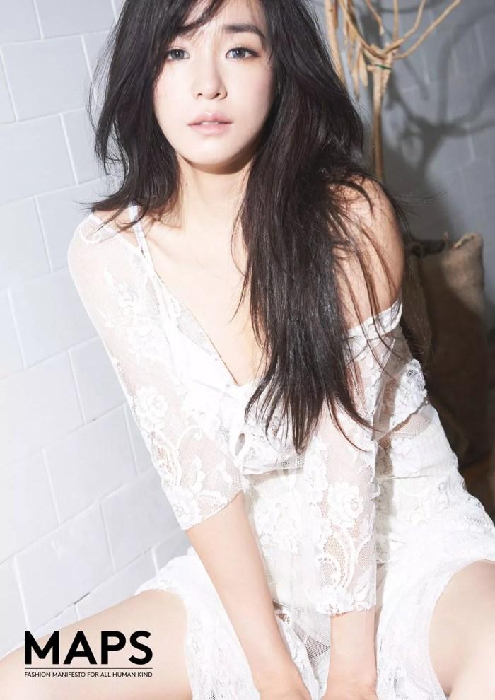 Tiffany SNSD Pamer Payudara Seksi - MAPS Photoshoot 03