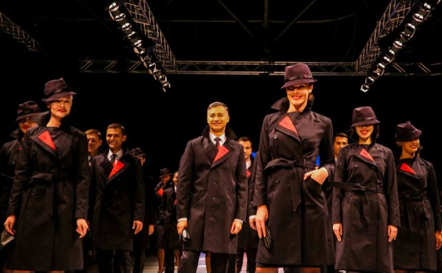 New Qantas Uniform- Coats