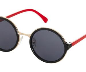 Topshop 90s round sunglasses