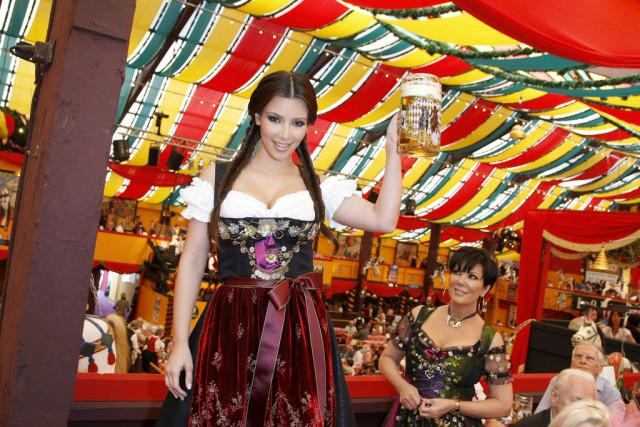 Kim Kardashian at Oktoberfest