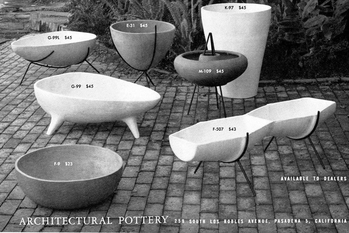 planters architectural pottery