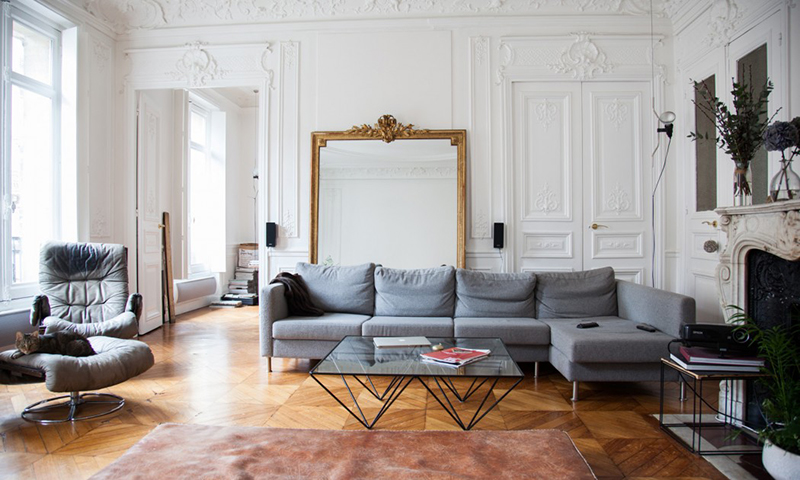 A Lovely Apartment In Paris Fashion Squad