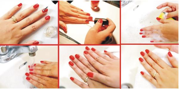 How To Apply Nail Color Perfectly