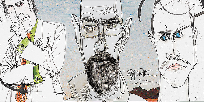 Breaking Bad Art Collection