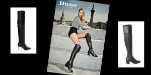 Sexy Overknee-Stiefel: Modell Sindie von Dune London