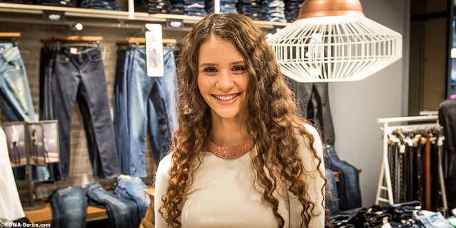 Betty Taube MAVI Shop opening 2014 Mall of Berlin