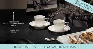 KPM Weihnachtswelt berlin 2014