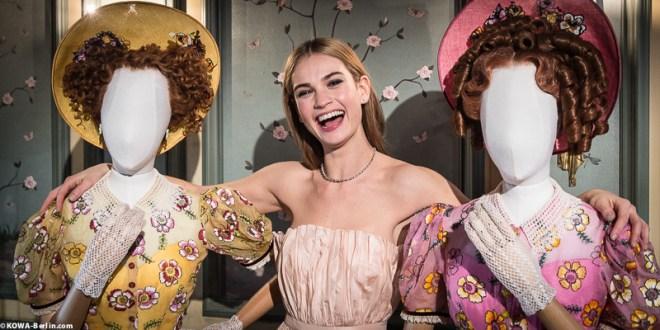 Cinderella 2015 Ausstellung Lily James