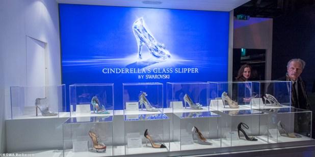 Cinderella 2015 Schuhkollektion Swarovski