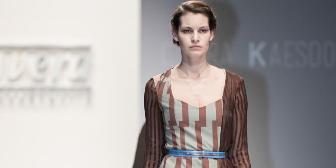 Clara Kaesdorf lavera showfloor
