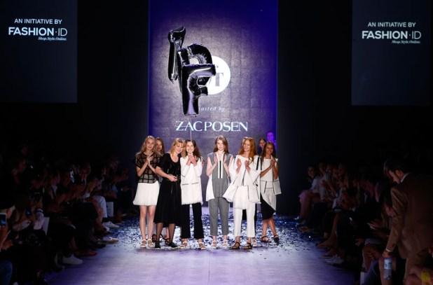 Designer for Tomorrow 2015  Zac PosenMercedes-Benz Fashion Week Berlin Spring/Summer 2016