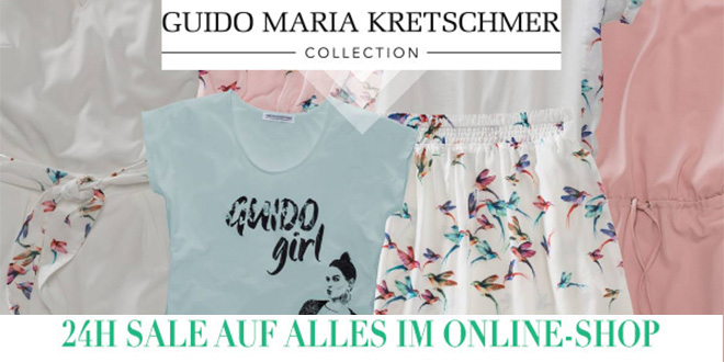 guido maria kretschmer sale im online shop mode vom stardesigner mode shopping designer. Black Bedroom Furniture Sets. Home Design Ideas