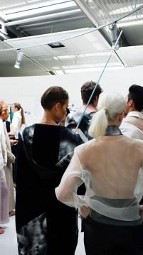 HTW Designers Fashion Show im Rahmen des Frankfurt Style Award 2015 – Backstage Report, Noetia Berlin