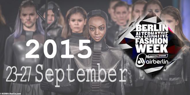BAFW Berlin Alternative Fashion Week 2015