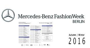 Schauenplan Mercedes-Benz Fashion Week AW 2016 2017-mbfw-fw-16