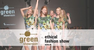 Greenshowroom und Ethical Fashion Show Berlin 2017 Funkhaus Berlin