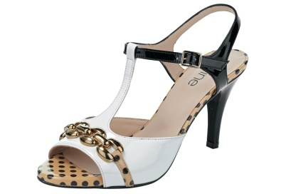 Sandalette schwarz-weiß €139,90