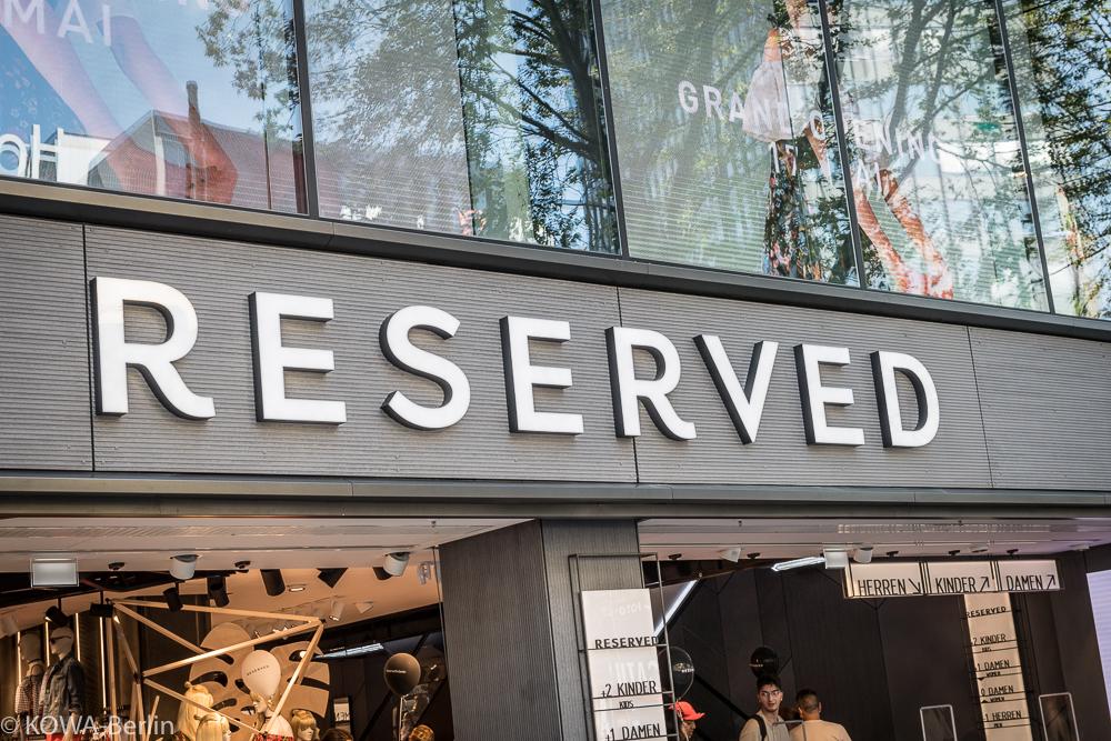 latest on feet shots of best RESERVED eröffnet neue Filialen in Deutschland: Berlin, Köln ...